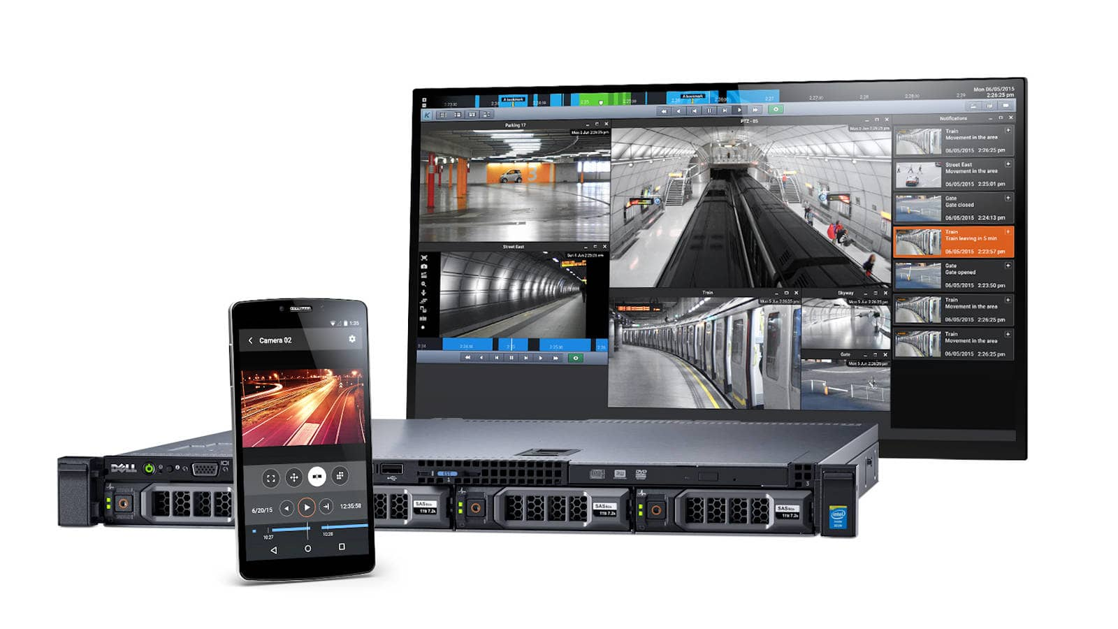 Rejestrator kamer IP